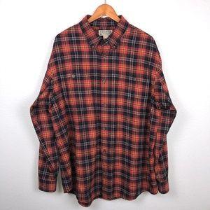 Duluth Trading Co. Free Swingin' Flannel Shirt